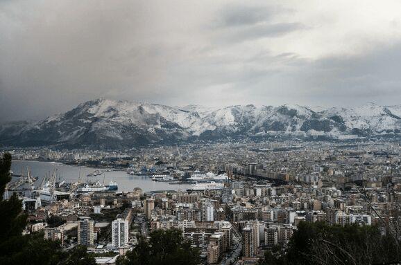 Palermo im Winter