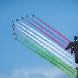 Die neue italienische Kunstflugstaffel