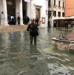 Hochwasser. Immer noch.