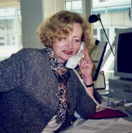 In memoriam Gisela Krohn