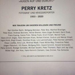 Mensch, Perry.