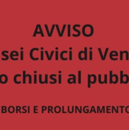 Schließt Venedig!
